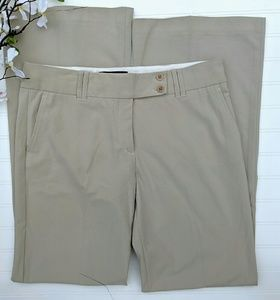 BCBGMaxazira Wide Legged Tan Dress Pants 10 L